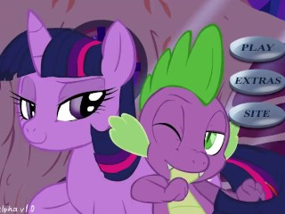 My Little Pony Twilight and Spike XXX Game