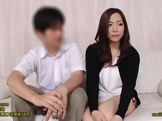 japanese husband and wife play some sex game