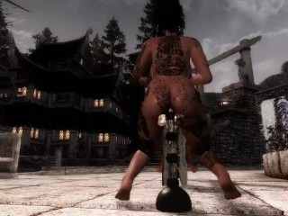 Anal Pendulum (Game: Skyrim Animation)