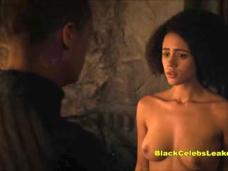 Nathalie Emmanuel NUDE HD Sex Scenes [Missandei Game of Thrones]