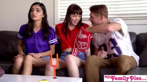"""""""i'm trying to watch the game fuck off!"""" super bowl sunday threesome s12:e1"""