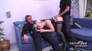 Sex game ends in a threesome